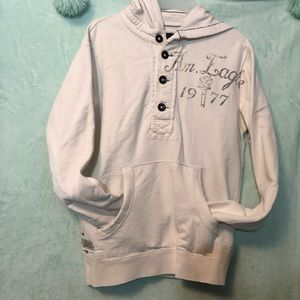 American Eagle Outfitters S/P white hoodie